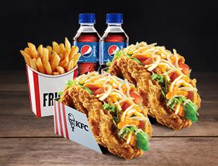 KFC Tacos Duo Meal